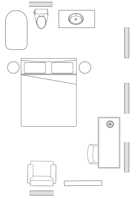 The <span>Ward</span> Room Floorplan